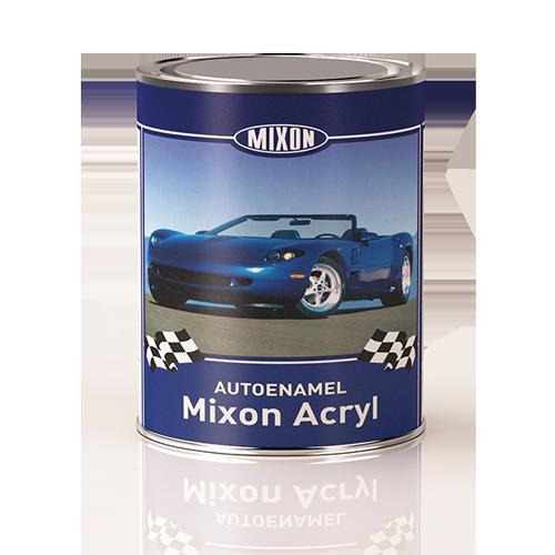 Автомобильная краска акриловая Mixon Acryl. Белая 201. 1 л