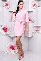 """Платье """"Элегия 2097""""  Розовый L"""