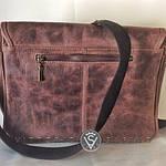 Сумка женская VS142 vintage brown 31х22х7см, фото 2