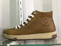 Мужские зимние ботинки кожа all star 40-45 р. (мех)