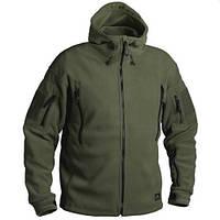 Флисовая куртка Patriot - Double Fleece  олива  Helikon-Tex