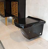 Унитаз подвесной IDEVIT Vega (2804-0606-07) черный