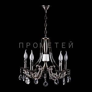"""Классическая люстра """"свеча"""" на 5 лампочек. P3-72715/5P/AB"""