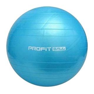 фитбол фитнес мяч голубого цвета