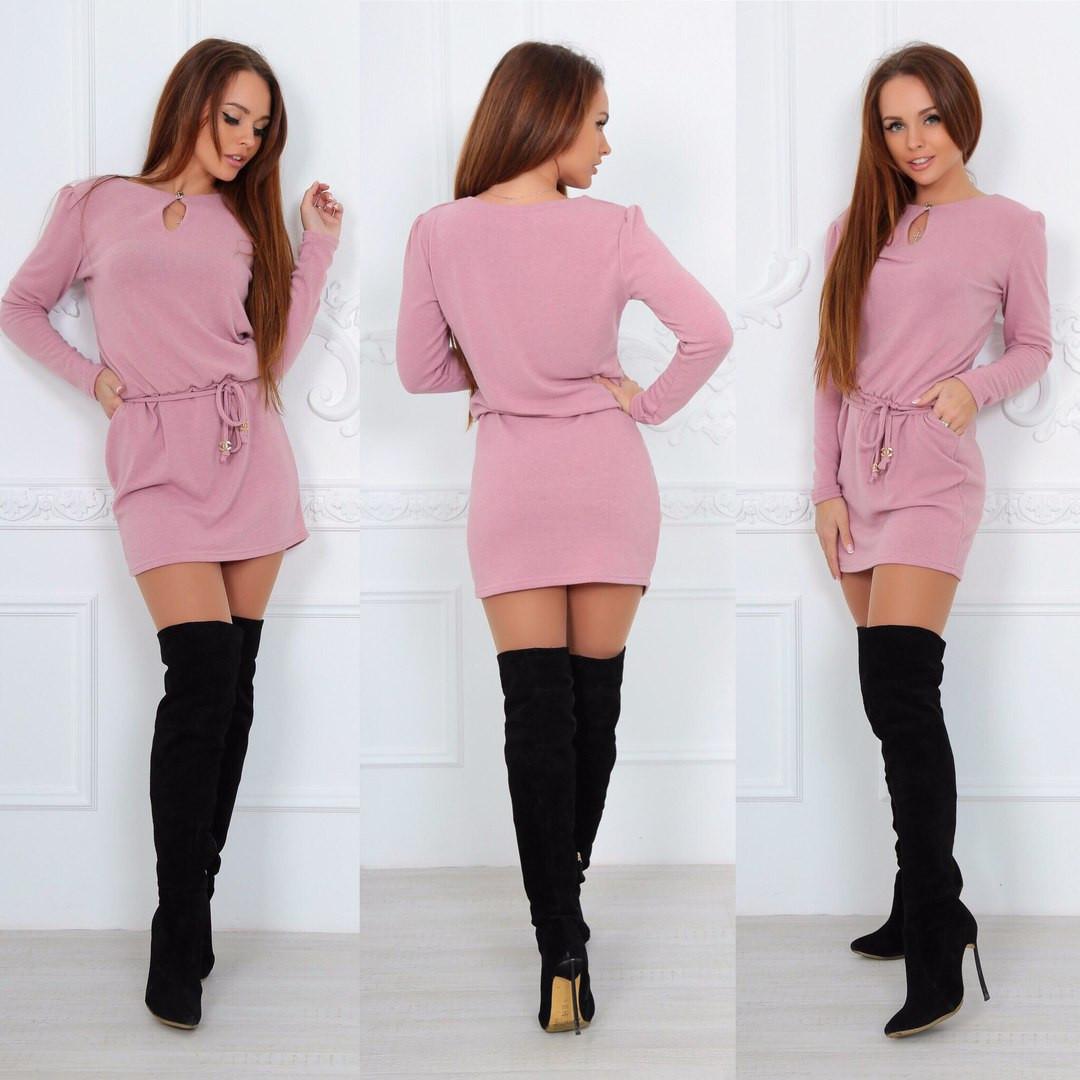 Платье - свитер с капелькой