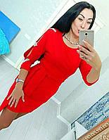 """Платье женское стильное с разрезами, размеры 42-46 (2 цвета) Серии """" INGHIR """" купить оптом в Одессе на 7 км, фото 1"""