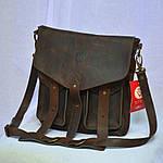 Сумка унисекс VS145M triple brown 32x27x7, фото 2