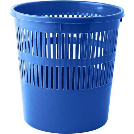 Корзина для мусора Кп-3 синяя, фото 2