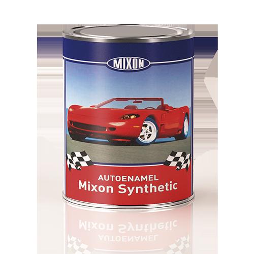 Алкидная краска для авто Mixon Synthetic. Серо зеленая 373. 1 л