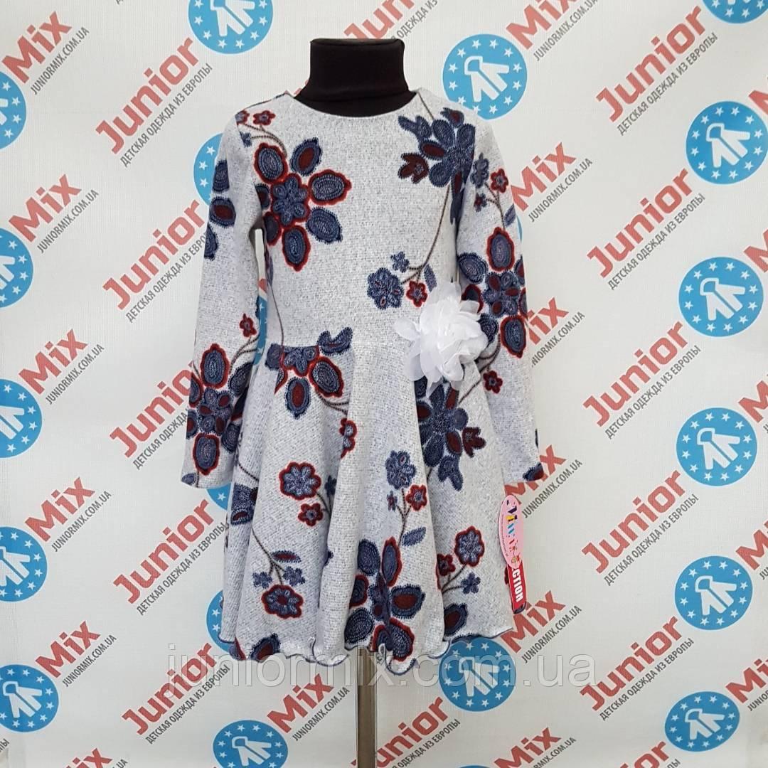 Детские платья для девочек в цветы оптом MEWA