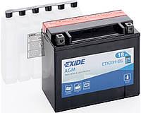 Мото аккумулятор Exide ETX20HL-BS = YTX20HL-BS
