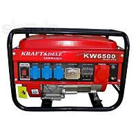 Бензиновый генератор KRAFT&Dele KW6500 (KD-130)