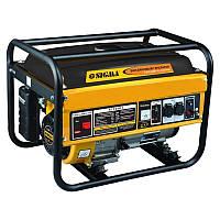 Бензиновый генератор SIGMA Генератор бензиновый 5.0/5.5 кВт ручной запуск (5710301)