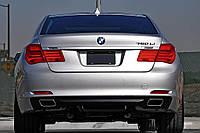Диффузор + нассадки BMW F01 (2008-up) 7-серияF01-22