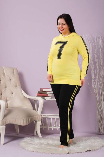 Піжама жіноча великих розмірів SEXEN 60051
