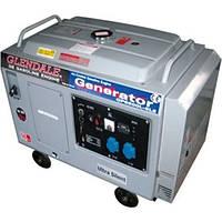 Бензиновый генератор Glendale GP6500L-SLE