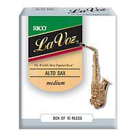 Трости для альт саксофона  RICO La Voz - Alto Sax Medium