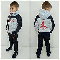 "Спортивный  костюм  теплый "" Jordan ""  134 см"
