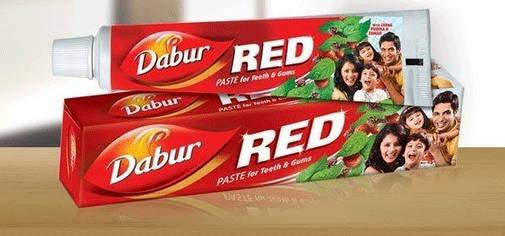 """Зубная паста """"Red"""" Dabur 100г, фото 2"""