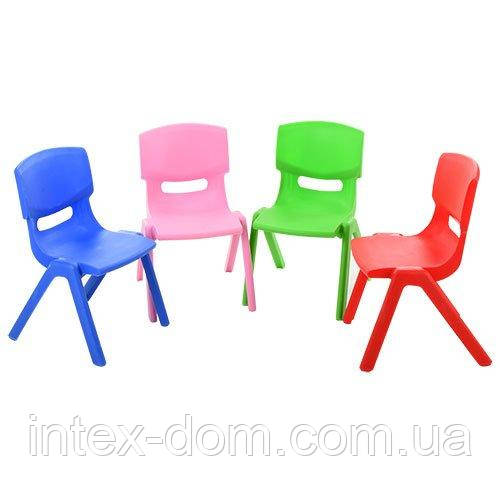 Детский стульчик (B0201) (желтый)
