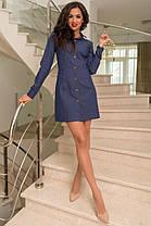 Платье джинсовое , фото 3