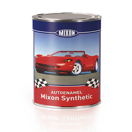 Алкидная автоэмаль Mixon Synthetic. Зеленая 5835. 1 л