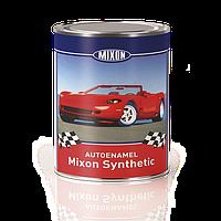 Алкидная автоэмаль Mixon Synthetic. Черная 601. 1 л, фото 1