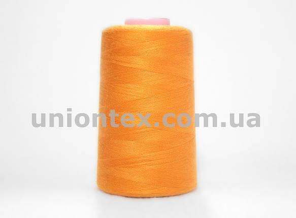Нитка швейная 777 40/2 оранжевая, фото 2