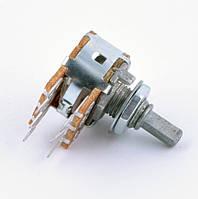 Потенциометр линейный стерео WH148 200кОм L=15мм