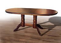 Стол обеденный, раскладной Наполеон массив дуба