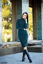Трикотажное платье миди, фото 2