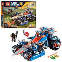 """Конструктор Senko Nick  Knights   SY 566аналог Лего 70315) """"Устрашающий разрушитель Клэя"""", 432 дет"""