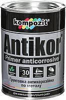 "Грунтовка по металу ANTIKOR ""Кompozit"" светло серый 3,5кг"