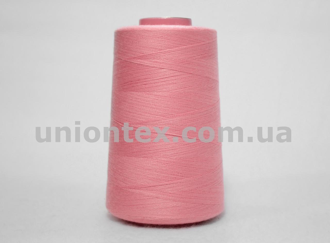 Нитка швейная 777 40/2 розовая