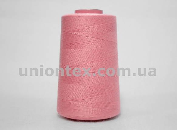Нитка швейная 777 40/2 розовая, фото 2