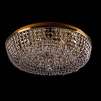 Хрустальные люстры не классические на 8 лампочек (золото). P5-E0966/8