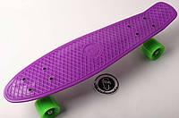 Penny Board FISH 22in (фиолет-желтый-зеленый), фото 1