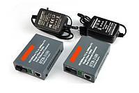 Комплект медиаконвертеров Netlink HTB-3100AB