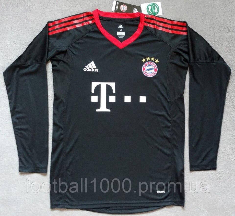 af9cc91a2b4c Футболка вратаря Adidas FC Bayern München 2017-18 - ГООООЛ› спортивная и футбольная  экипировка