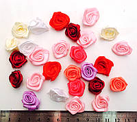 Розыразноцветные, пришивные, диаметр 2см (80шт в упаковке)