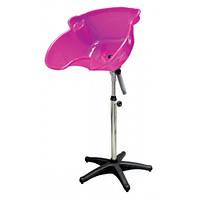 Мойка парикмахерская пластиковая TICO Professional розовая, Рівне