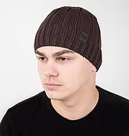 Повседневная мужская шапка на флисе - Арт AL17041