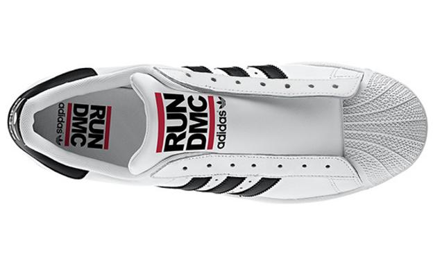 Кроссовки мужские Adidas SUPERSTAR 80s RUN DMC белый, фото 2