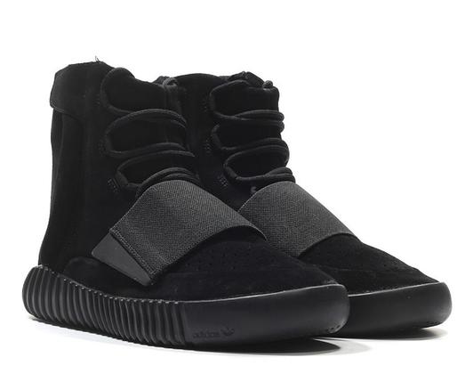 Кроссовки мужские Adidas YEEZY 750 BOOST Black, фото 2