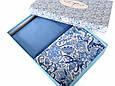 Постельное белье Irya Flanel Salamis синее евро размер, фото 2
