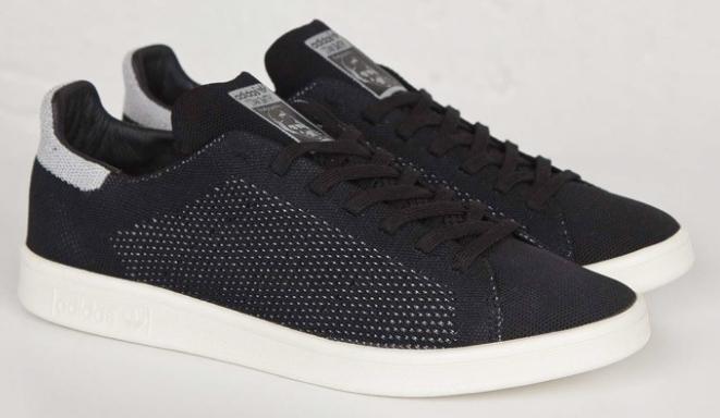 Кроссовки мужские Adidas STAN SMITH citi MARATHON черные, фото 2