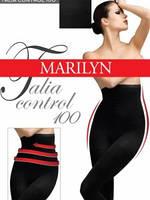Утягивающие Колготки с высоким силиконовым поясом Marilyn Talia Control 100 ден