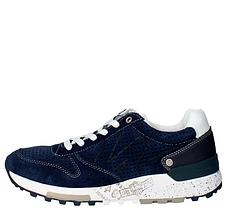 Кроссовки мужские Летние Wrangler Sunday suede WM161092 dk.navy Синие Blue Оригинал, фото 2