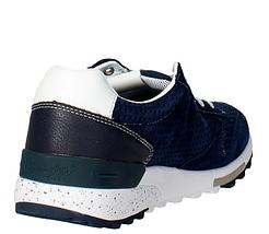 Кроссовки мужские Летние Wrangler Sunday suede WM161092 dk.navy Синие Blue Оригинал, фото 3