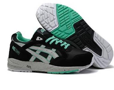 Кроссовки мужские ASICS GEL-SAGA II Black Green